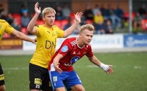 Simen Hestnes og Skeid ga alt mot LSK i cupens andre runde, men det endte med exit