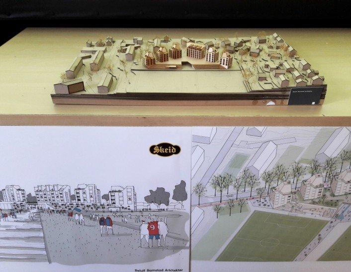 Skisse av prosjektet (foto: Vårt Oslo)