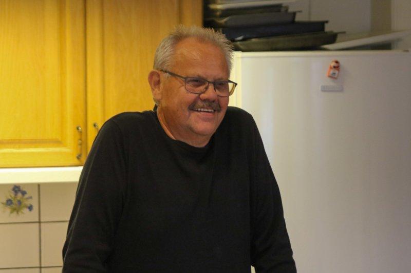 Ivar svingte seg på kjøkkenet