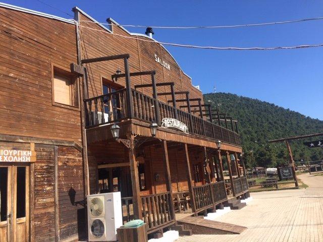 Saloonen på The Ranch