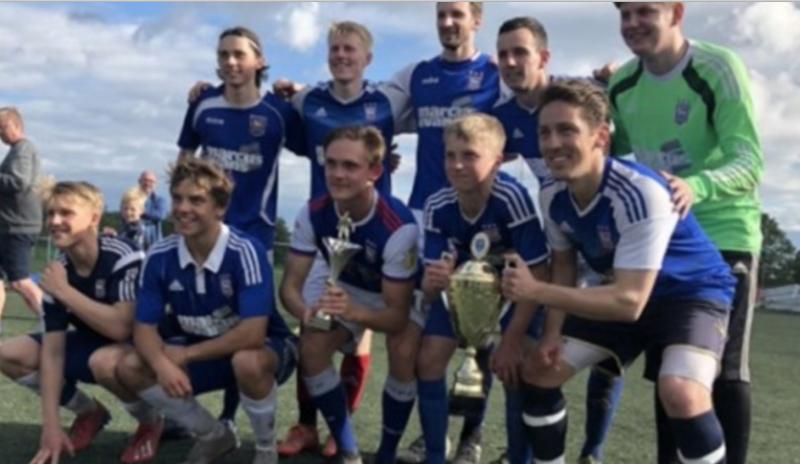 Ipswich vant cupen! (Foto: SBF)