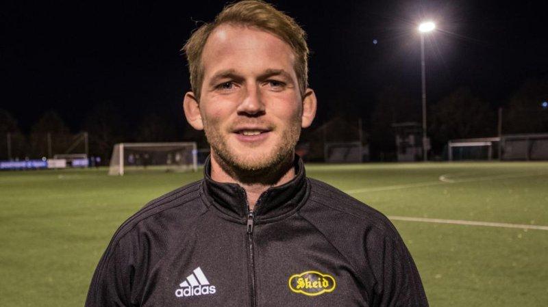Avtroppende Jr-trener Steffen Andersen.