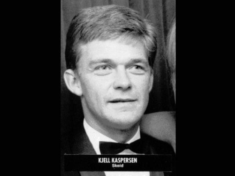 Kjell Kaspersen fra yngre dager