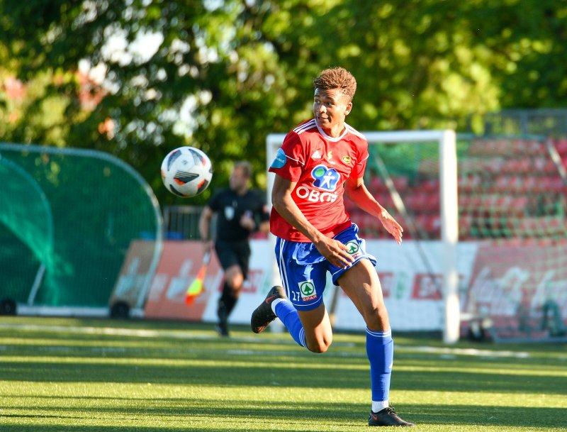 Francklyn Wollum-Goulehi scoret 2-1-målet.