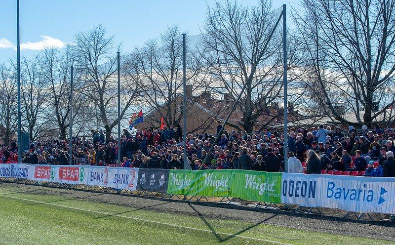 Første serierunde på Nordre Åsen